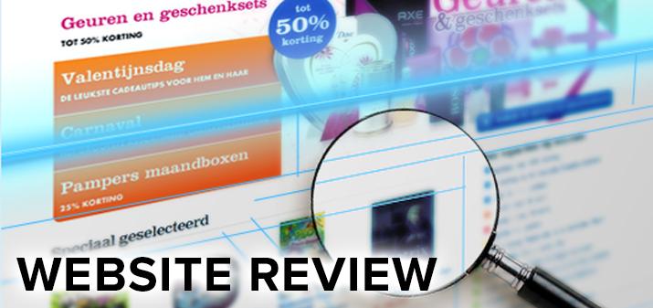 website review verbeterpunten